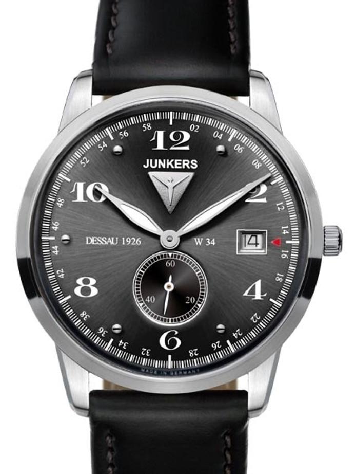 Junkers Dessau 1926 Flatline Ulta-Thin Dress Watch #6334-2