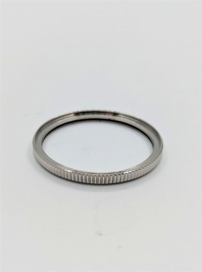 Polished Stainless Steel (Coin Edge) Bezel for Orient Ray and Mako Generation 2 #B04-P