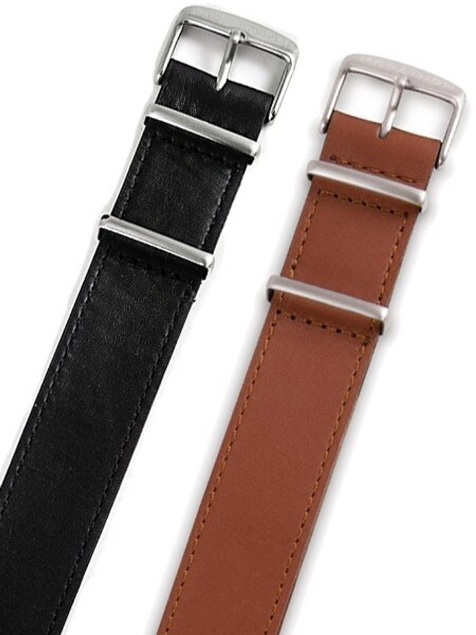 Marathon 18mm Leather One-Piece Strap #WW005011