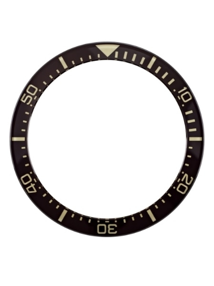 Black Sapphire Luminous Bezel Insert for Orient Triton-Neptune Watches #C23