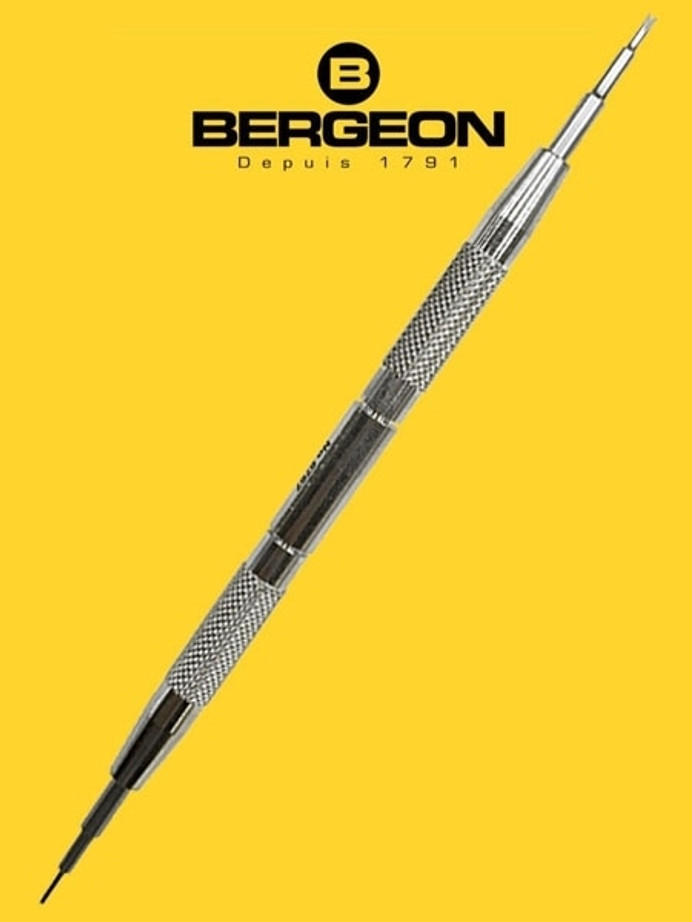 Bergeon Professional Spring Bar Tool for Watch Bracelets, Straps #6767F