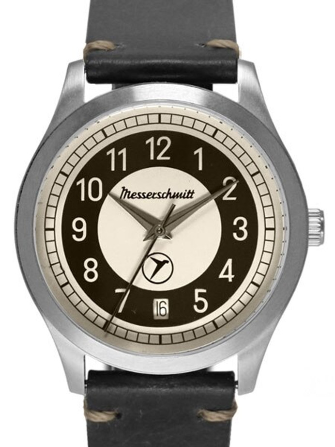 Messerschmitt Retro Dial Quartz Watch with 38mm Case #KR201-S