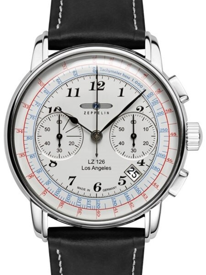 Graf Zeppelin LZ 126 Los Angeles Quartz Chronograph Watch #7614-1