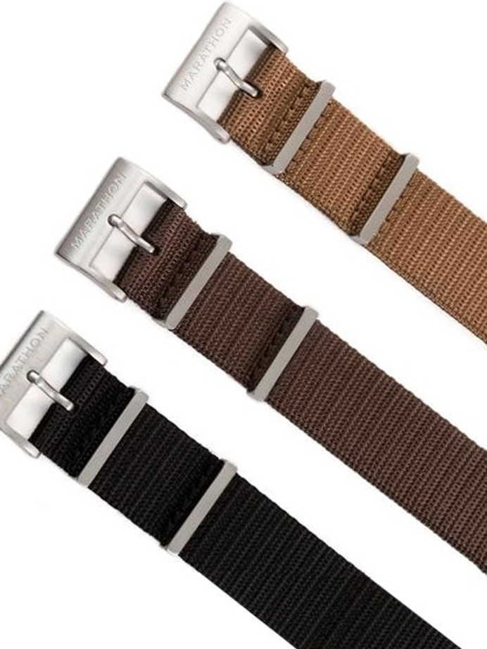 Marathon 20mm Military-Style Nylon One-Piece Watch Strap #WW005024