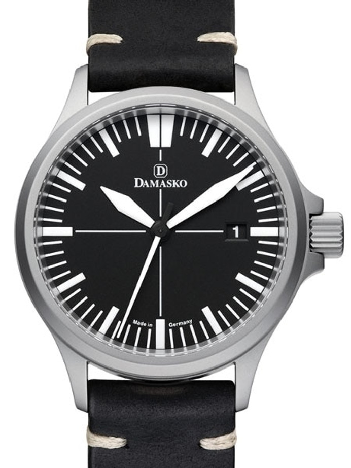 Damasko Swiss DS30 Automatic Watch with a 39mm Bead-Blasted Submarine Steel Case #DS30