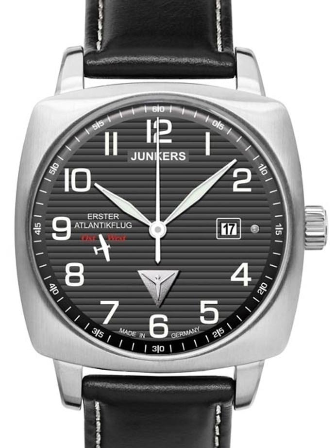 Junkers 1st Atlantic Flight East-West Miyota Automatic Watch #6450-2