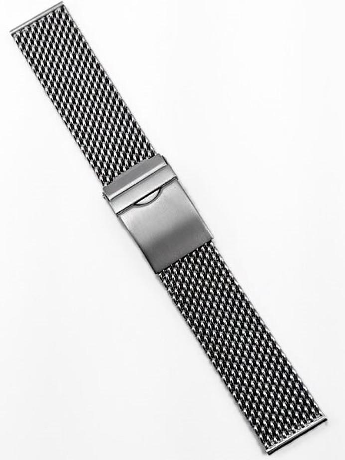 Vollmer Brushed Finish Stainless Steel Mesh Bracelet #17002H4 (22mm)