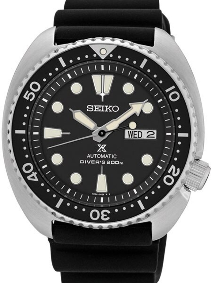 Customized Seiko Turtle Automatic Dive Watch #SRP777