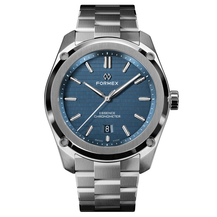 Formex Essence Swiss Automatic Chronometer with Blue Dial #0330.1.6331.100