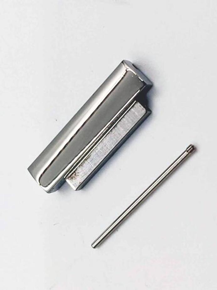 STAIB Polished Mesh Bracelet Sizing Link #STEEL-2792-22-P (22mm)