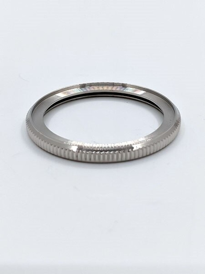 Polished Stainless Steel (Coin Edge) Bezel for Seiko SKX013 #B05-P