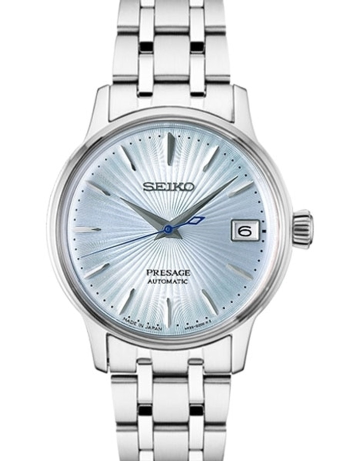 "Ladies Seiko Presage ""Cocktail Time"" Automatic Dress Watch with 33.8mm Case #SRP841"