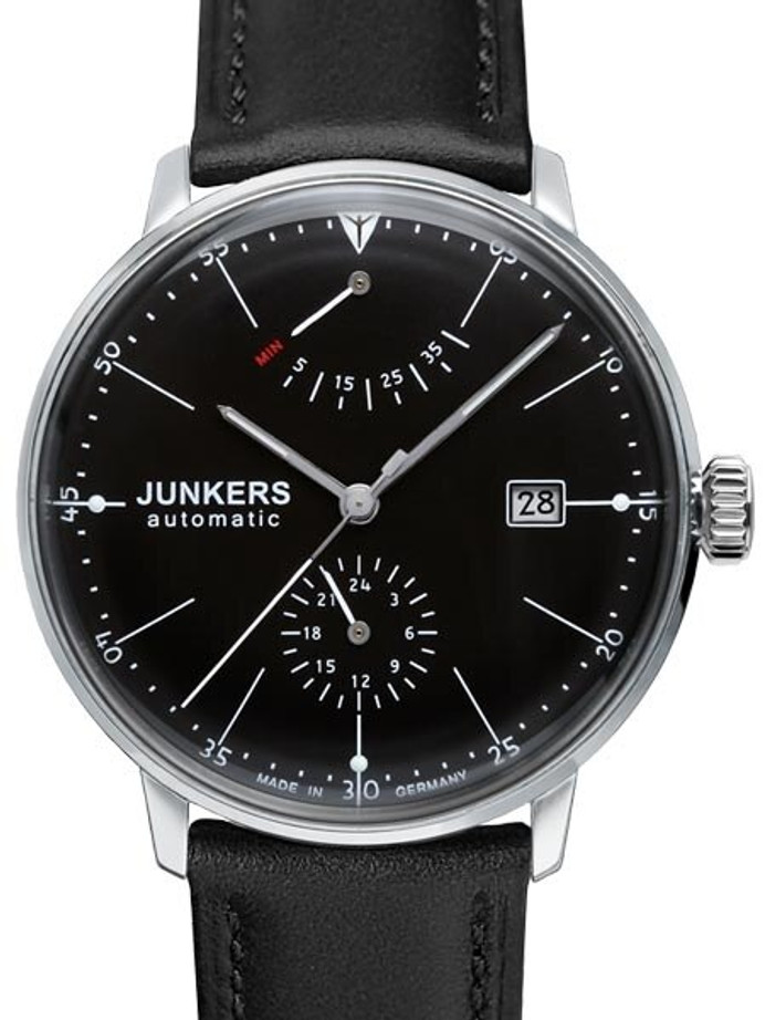 Scratch and Dent - Junkers Bauhaus Automatic Watch with Power Reserve and 24hr Subdial #6060-2-SND