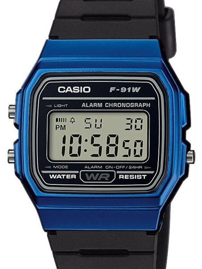 Casio Men's Vintage Series Digital Resin Strap Watch #F-91WM-2A