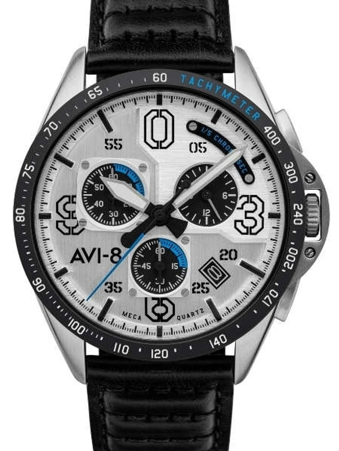 AVI-8 Command Pilot Blakeslee Chronograph Watch #AV-4077-01
