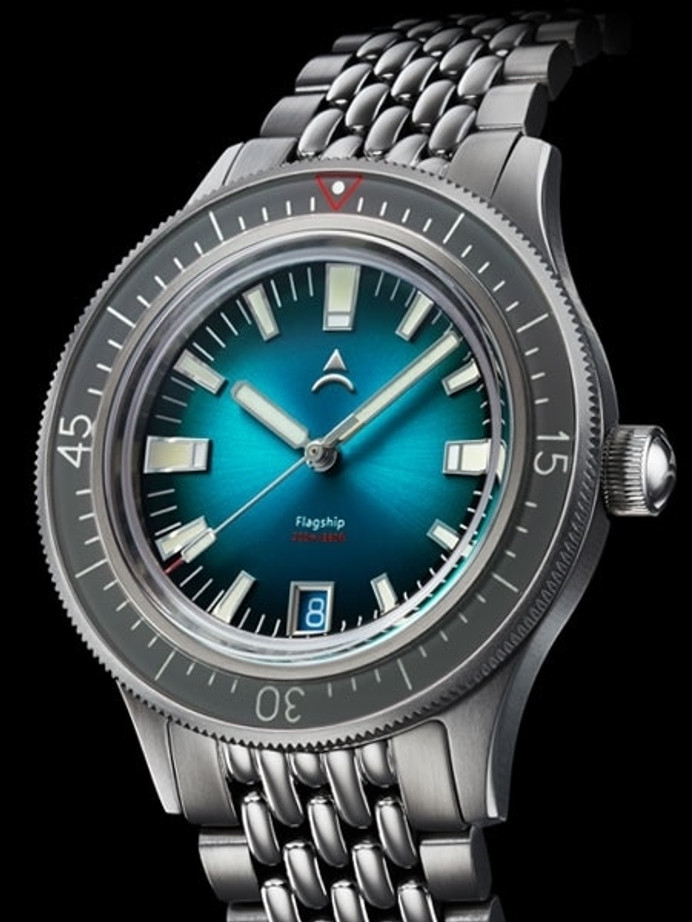Axios Flagship 40 Victory 200-Meter Automatic Dive Watch with Box AR Sapphire Crystal #AX-03