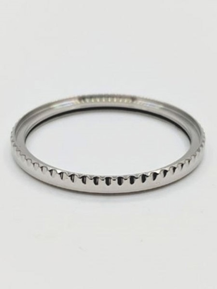 Polished Stainless Steel (Sub-Style) Bezel for Orient Kamasu watches #B15-P
