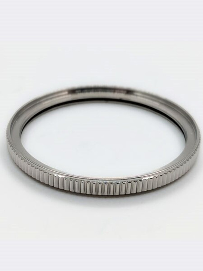 Polished Stainless Steel (Coin Edge) Bezel for Orient Kamasu Watches #B16-P