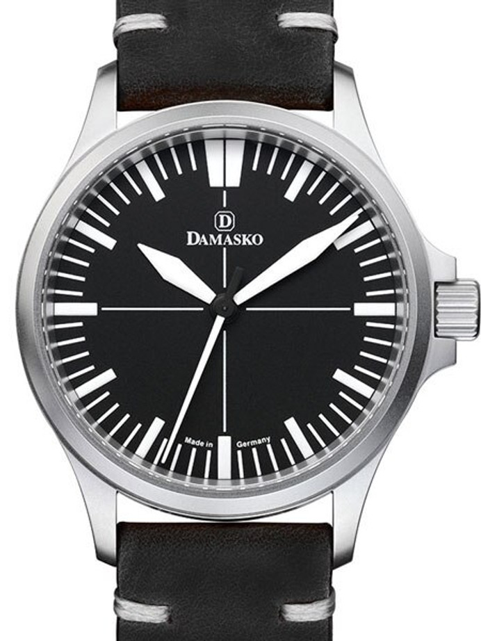 Damasko Swiss Automatic Watch with a 39mm Bead-Blasted Submarine Steel Case #DK30