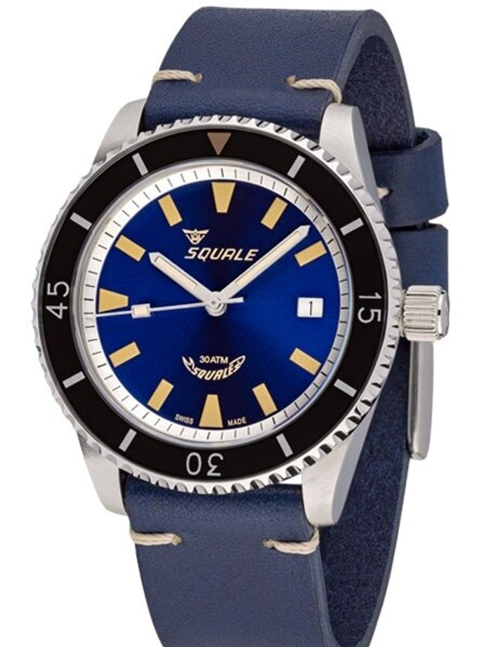 Squale Montauk 300 Meter Swiss Made Automatic Dive Watch with Sapphire Crystal #MTK-02