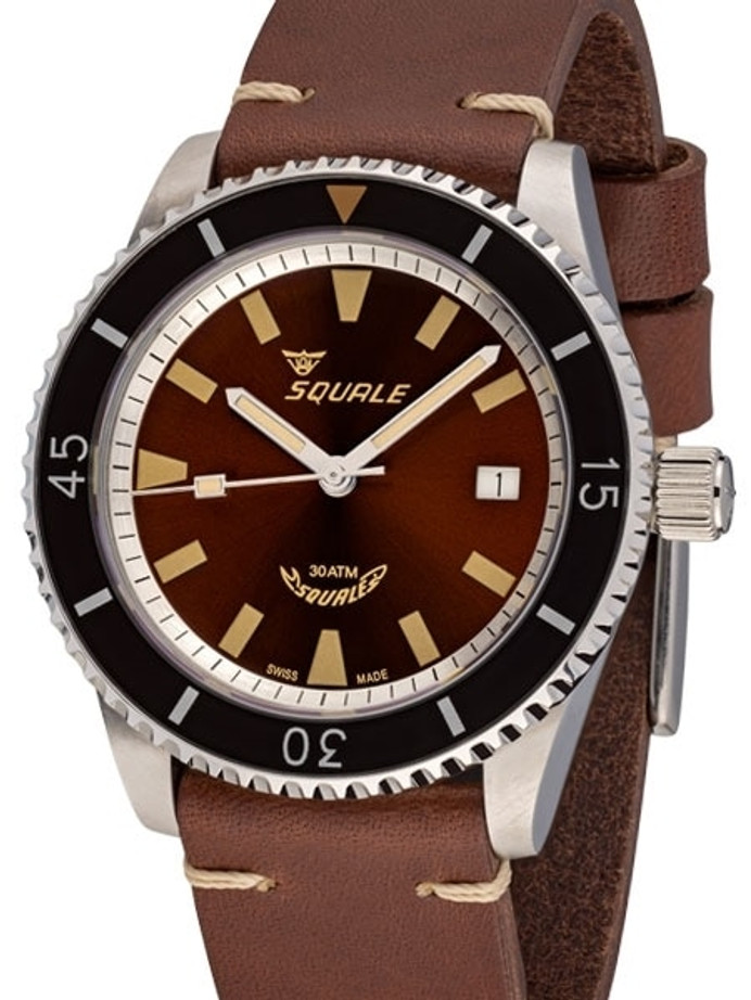 Squale Montauk 300 Meter Swiss Made Automatic Dive Watch with Sapphire Crystal #MTK-05