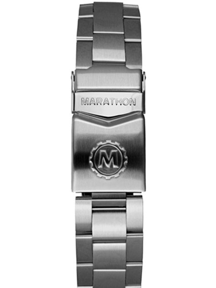 Marathon Brushed Finish Solid Link Bracelet #WW005005MA (20mm)