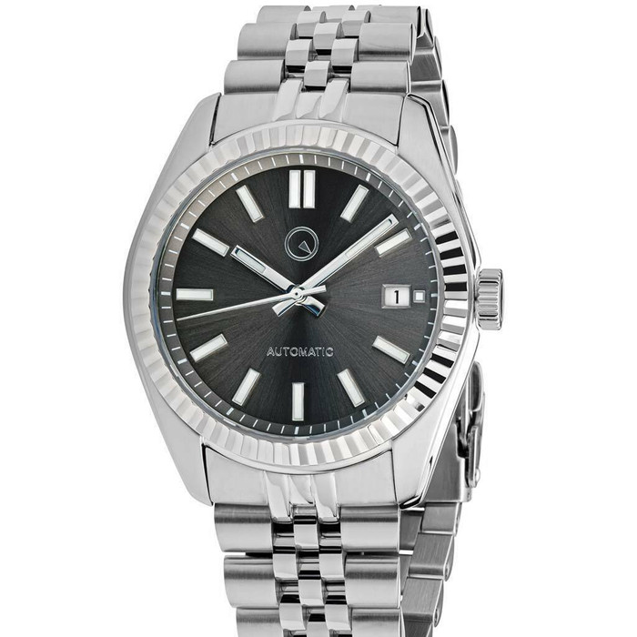 Islander Hi-Beat Automatic Dress Watch with Grey Dial, AR Sapphire Crystal #ISL-39