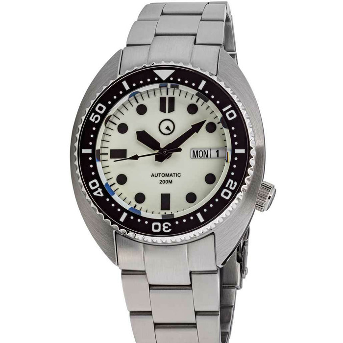 Islander Luminous Dial Automatic Dive Watch with AR Sapphire Crystal, and Lumious Ceramic Bezel Insert #ISL-70