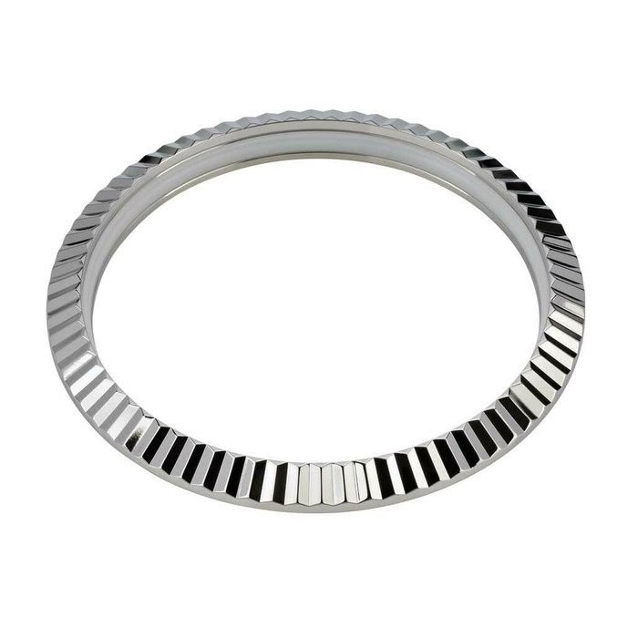 Fluted Stainless Steel Bezel for Seiko SRPE51, 53, 55, 57, 58, 60, 61, 63, 67 #B11-P