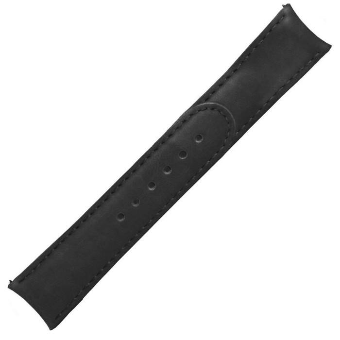 Formex 20mm ESSENCE 39 Black Leather Strap (without clasp) #CLS-0333-711