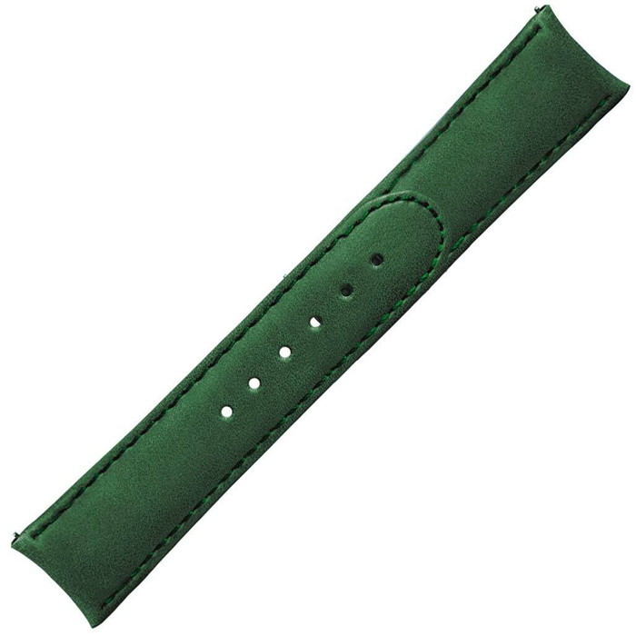 Formex 20mm ESSENCE 39 Green Leather Strap (without clasp) #CLS-0333-710