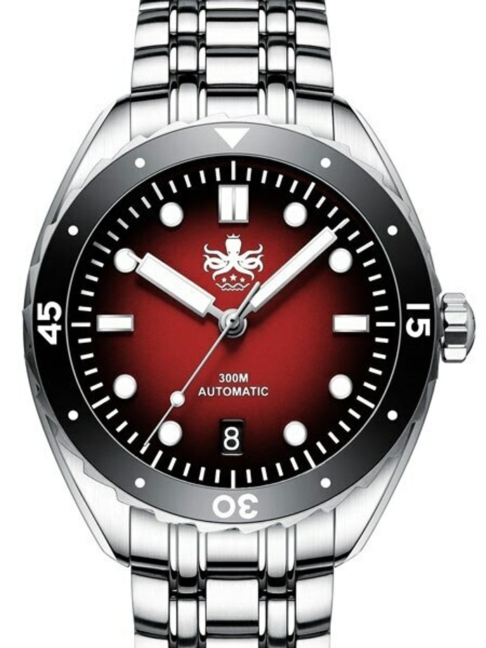 Scratch and Dent - PHOIBOS Eagle Ray 300-Meter Automatic Dive Watch with Double Dome AR Sapphire Crystal #PY025D