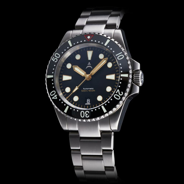 Axios Ironclad 500-Meter Swiss Automatic Dive Watch with DD AR Sapphire Crystal #AX-IC-01