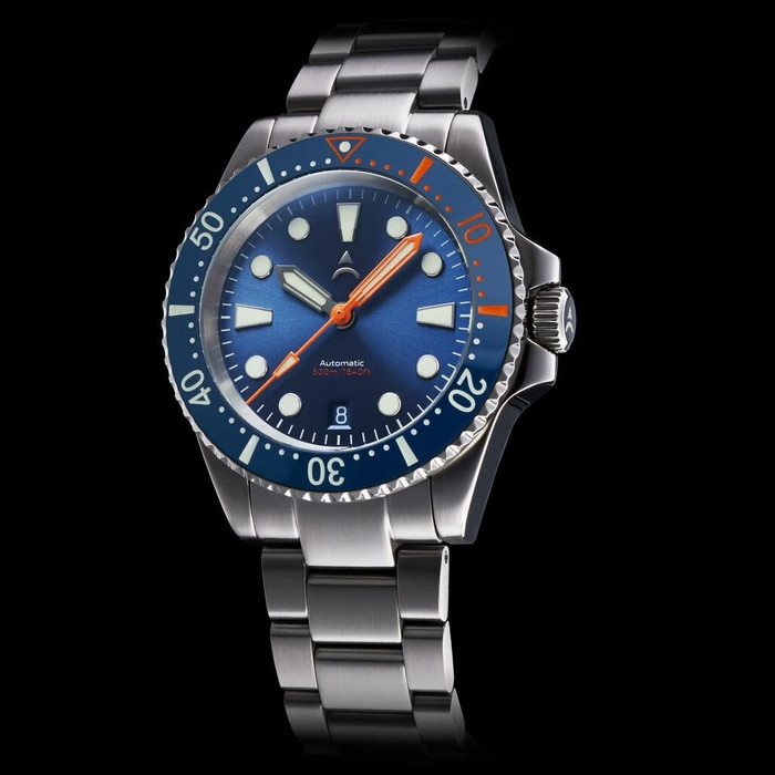 Axios Ironclad 500-Meter Swiss Automatic Dive Watch with DD AR Sapphire Crystal #AX-IC-02