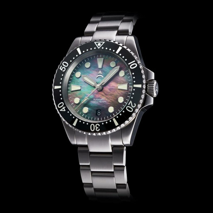 Axios Ironclad 500-Meter Swiss Automatic Dive Watch with DD AR Sapphire Crystal #AX-IC-04