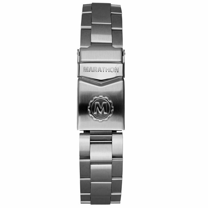 Marathon Brushed Finish Solid Link Bracelet #WW005016MA-A (18mm)