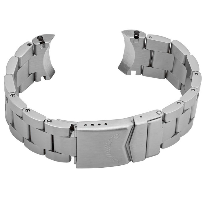 Squale Montauk Stainless Steel Bracelet #MTK-BRAC (Curved End, 20mm)