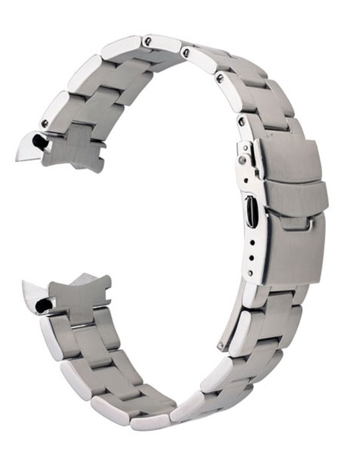 Islander 22mm Brushed Solid-Link Watch Bracelet for Orient Mako 2 and Ray 2 #BRAC-12