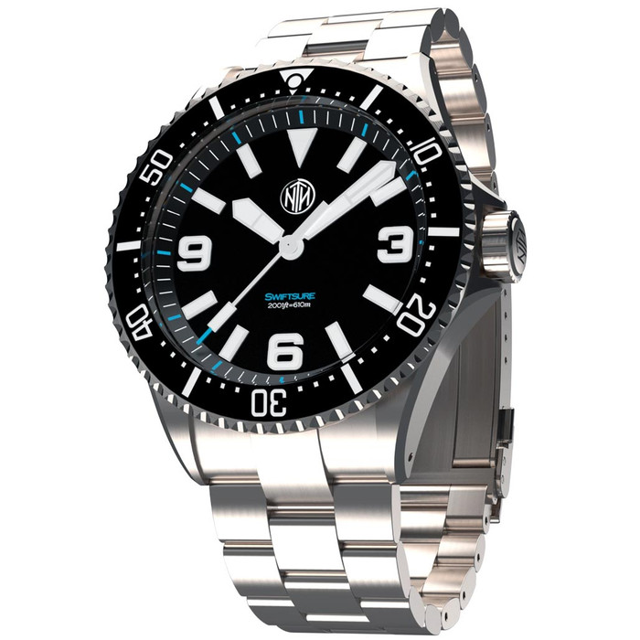 NTH Swiftsure 610-Meter Hi-Beat Automatic Dive Watch with an AR Sapphire Crystal #WW-2K1-SKSN