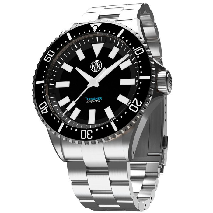 NTH Thresher 610-Meter Hi-Beat Automatic Dive Watch with an AR Sapphire Crystal #WW-2K1-TKSN