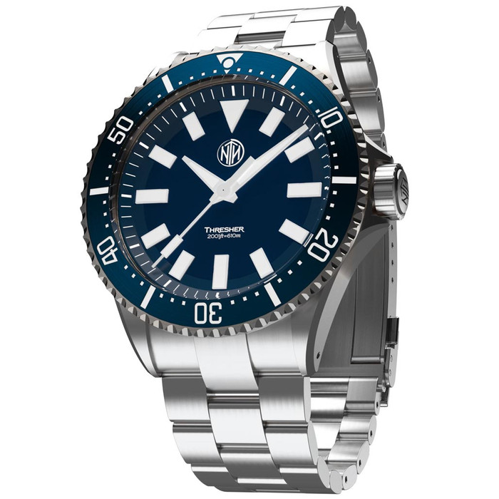 NTH Thresher 610-Meter Hi-Beat Automatic Dive Watch with an AR Sapphire Crystal #WW-2K1-TESN