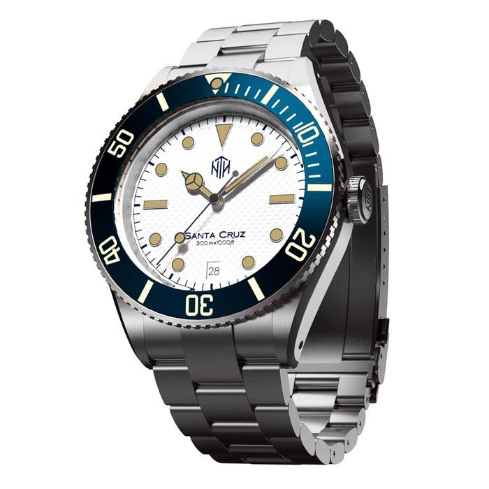 NTH Santa Cruz 300-Meter Hi-Beat Automatic Dive Watch with an AR Sapphire Crystal #WW-NTH-SCWD