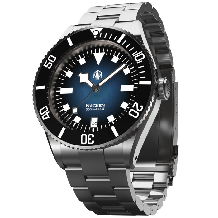 NTH Näcken - Renegade 300-Meter Hi-Beat Automatic Dive Watch with an AR Sapphire Crystal #WW-NTH-NRGD