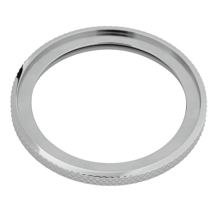 Knurled Edge Stainless Steel Bezel for Seiko SKX007, SKX009, SKX173, 175, 011, A35 #B17-P