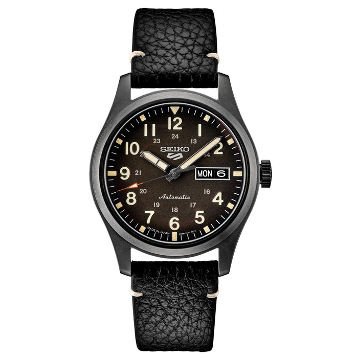 Seiko 5 Sports 24-Jewel Automatic Watch with Brown Ombré Dial  #SRPG41