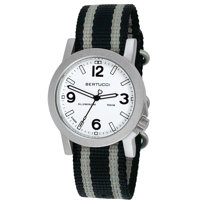 Bertucci A-6A Experior Tempo sport-field watch with light weight 40mm case #16520