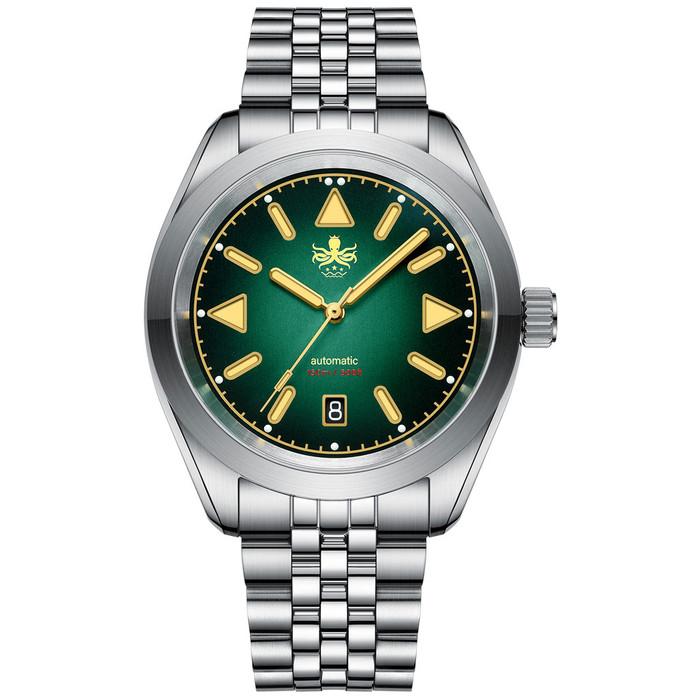 PHOIBOS Nebula Hi-Beat Automatic Watch with Sandwich Dial, AR Sapphire Crystal #PY030A