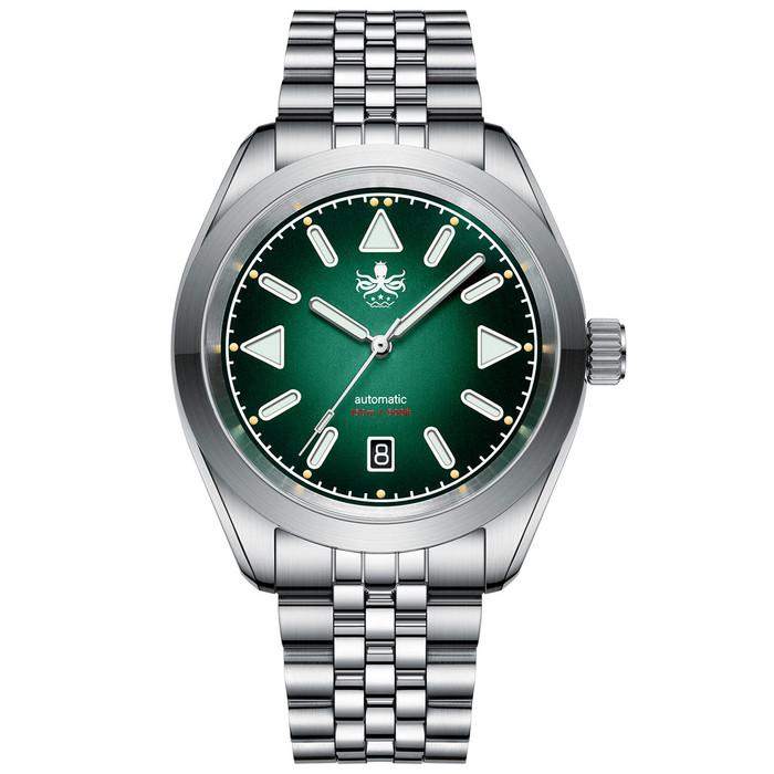 PHOIBOS Nebula Hi-Beat Automatic Watch with Sandwich Dial, AR Sapphire Crystal #PY030B