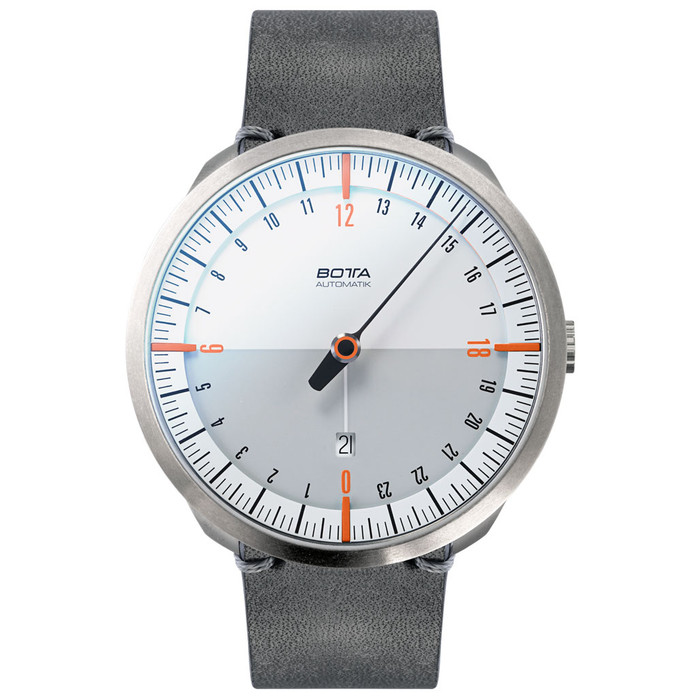 Botta UNO 24 one hand 24-hour Swiss Automatic watch with 45mm titanium case #921010