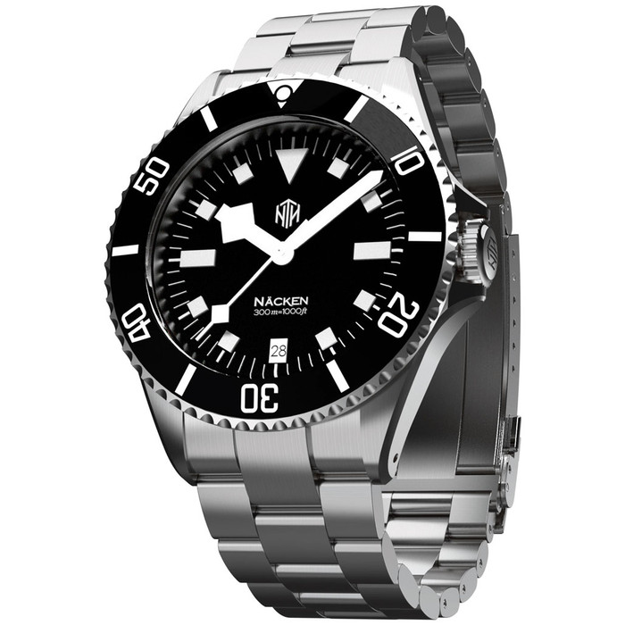 NTH Näcken 300-Meter Hi-Beat Automatic Dive Watch with an AR Sapphire Crystal #WW-NTH-NMKD